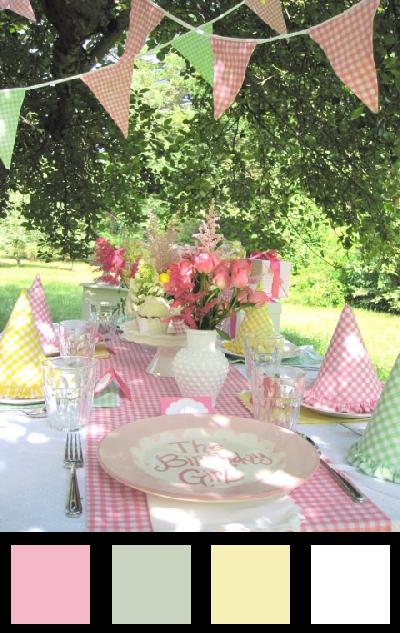 La table d'anniversaire - Nuancier 4