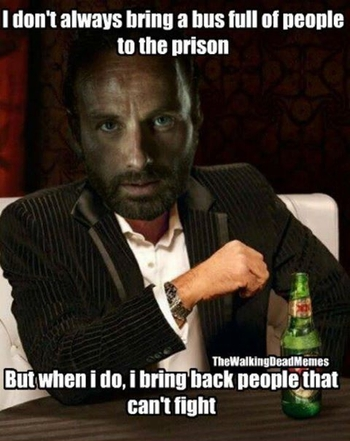 The Walking Dead memes 12