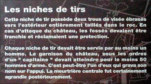 Photos de bouches à feu du Château de Bréze