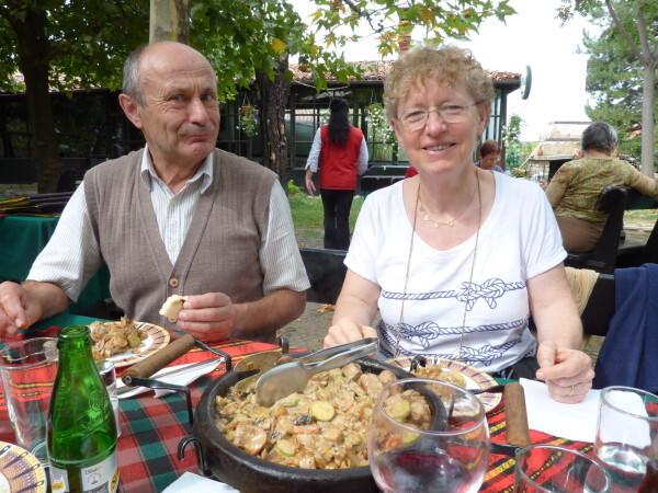 Jour 12 - Arbanassi - Restaurant du midi André et Jocelyne