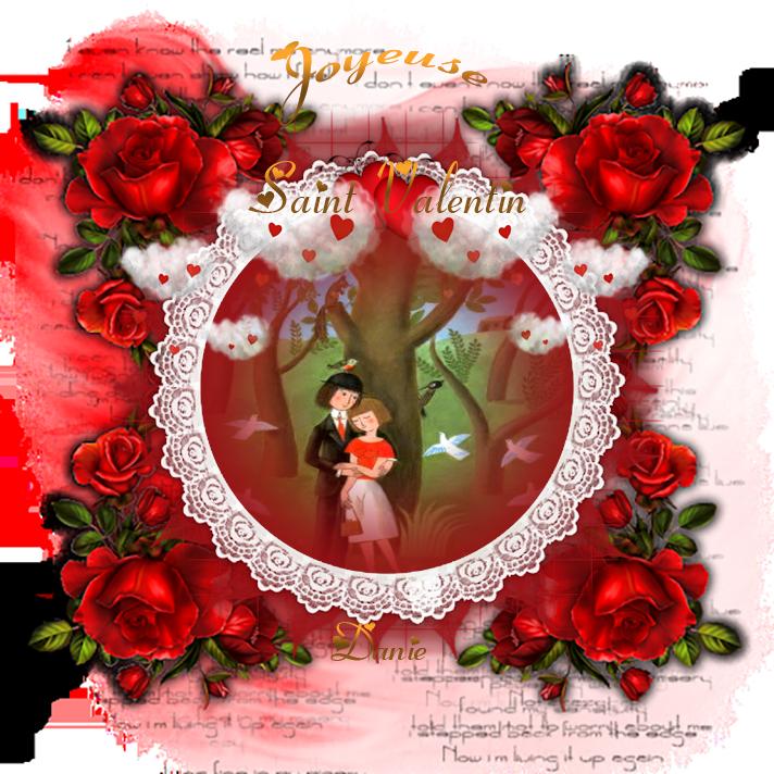 Plein d'Amour à tous les Valentines et Valentins ..Bisous