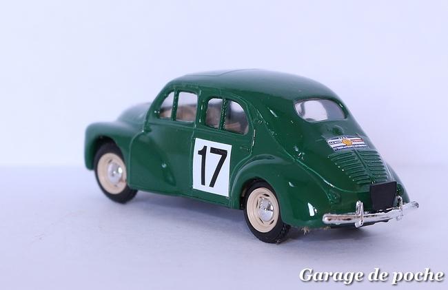 """4cv 1954 """"Tour de France auto"""""""