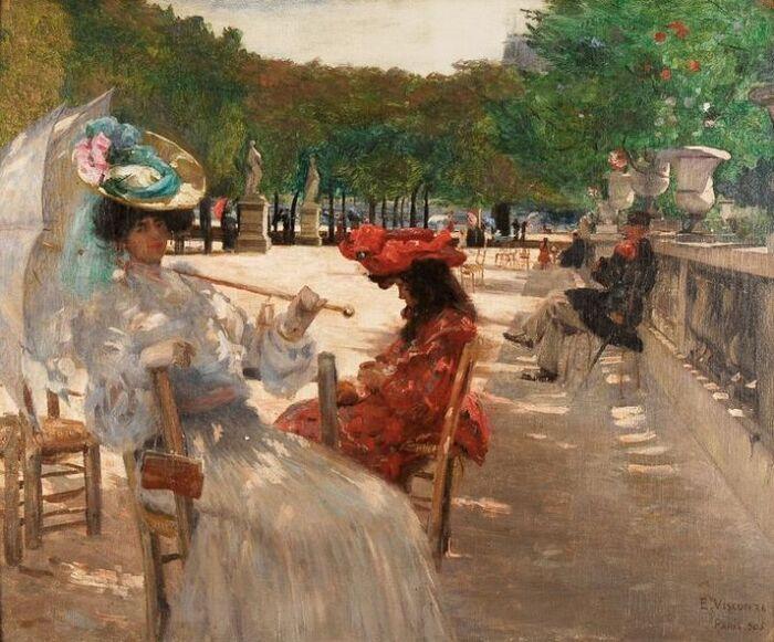Eliseu Visconti. Jardin du Luxembourg