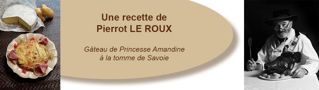 Gâteau de Princesse Amandine à la tomme de Savoie