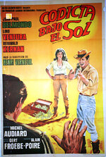 100 000 DOLLARS AU SOLEIL - BOX OFFICE LINO VENTURA 1964