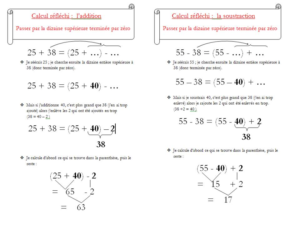 Le on calcul mental cm1 loustics - Calcul mental table de multiplication ...