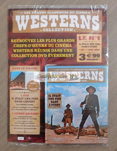 N° 1 Collection westerns en DVD - Lancement
