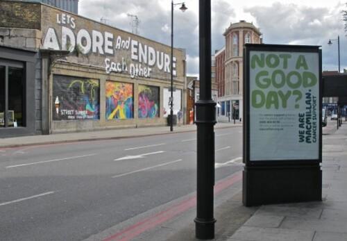 Espo street-art Londres Shoreditch adore endure 7