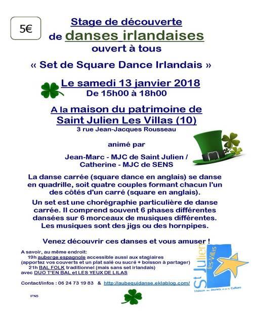 2018 01 13 Stage sets irlandais + bal folk avec DUO T'EN BAL et LES YEUX DE LILAS à ST JULIEN LES VILLAS (10)