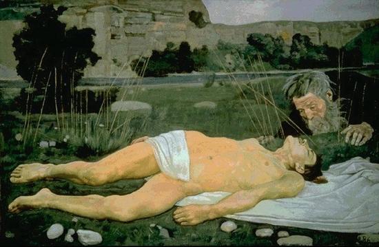 Ferdinand Hodler, Le bon samaritain