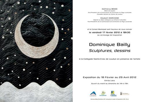 """DOMINIQUE BAILLY : """"Sculptures, Dessins"""""""