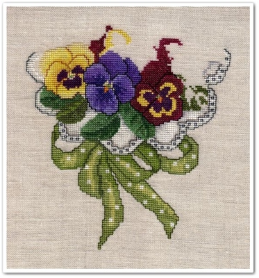 Pansy Bouquet - 5