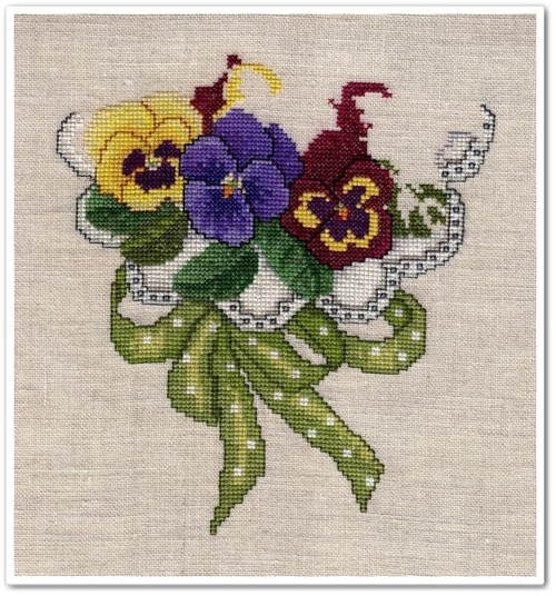Pansy Bouquet - 4