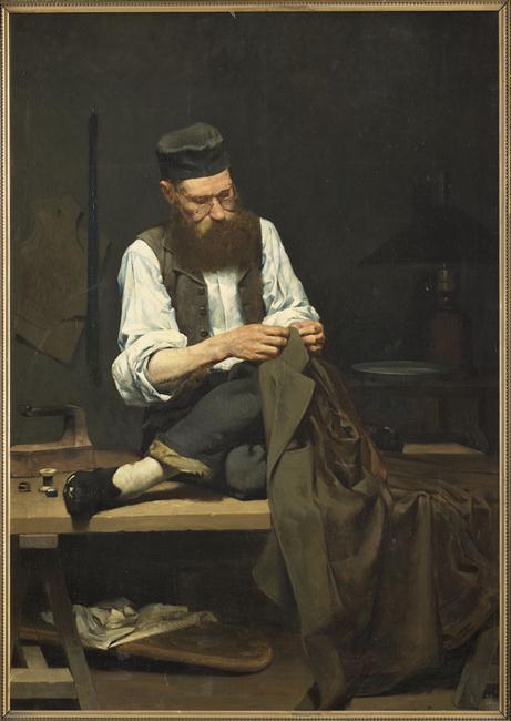 Le tableau du samedi - Ernest Bordes
