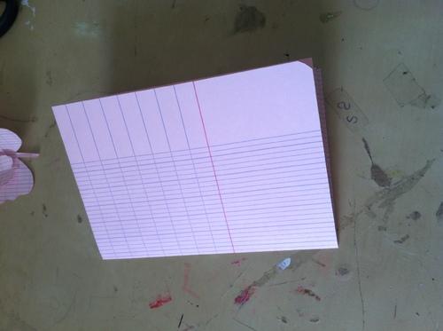 Tutoriel papillon en papier