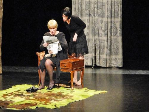 """""""Les derniers devoirs"""" de Calaferte, au théâtre Gaston Bernard de Châtillon sur Seine..."""
