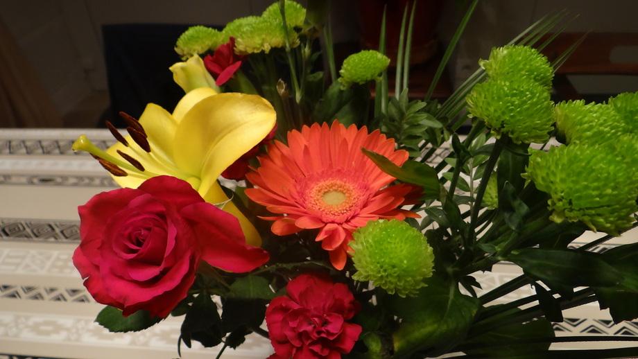 Quelques fleurs... Ce Vendredi !!