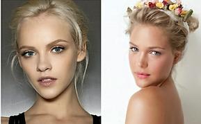 Maquillage naturel pour les blondes