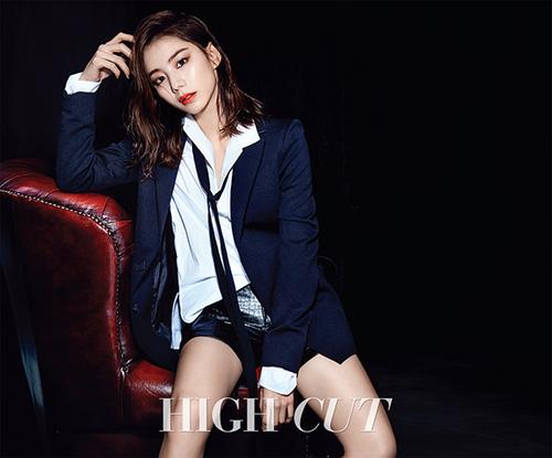 Park Soo Jin pour Hight Cut