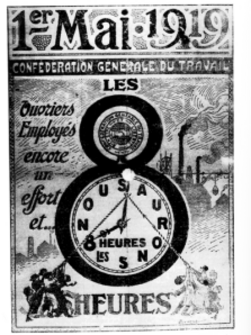 Depuis 1886, le 1er Mai............