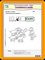Loup et sept biquets - Maths