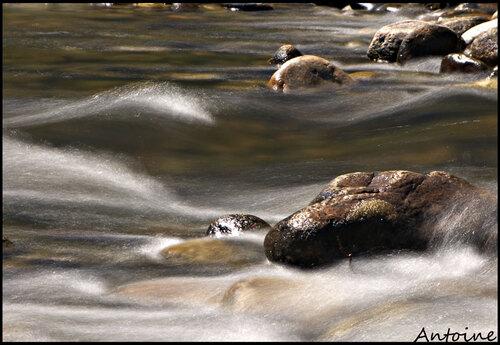Une rivière ardéchoise..