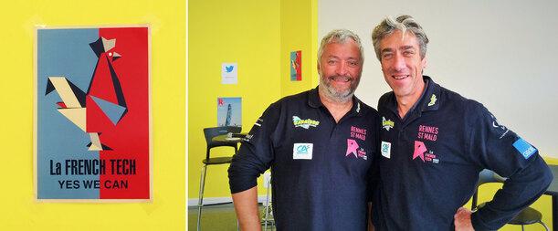 Rencontre avec les skippers de la team French Tech Rennes - St Malo