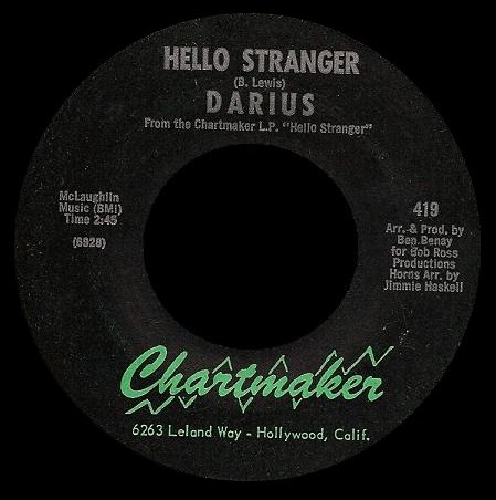 Darius - Hello Stranger