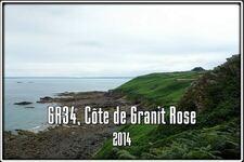 Sur le GR34 la Côte de Granit Rose