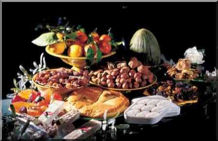 Le réveillon de Noël en Provence, les treize desserts