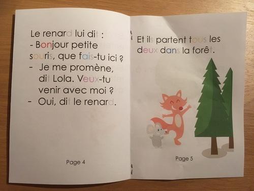 Petit livre pour jeune lecteur