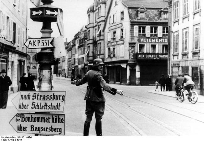 L'Alsace occupée pendant la Seconde Guerre Mondiale -