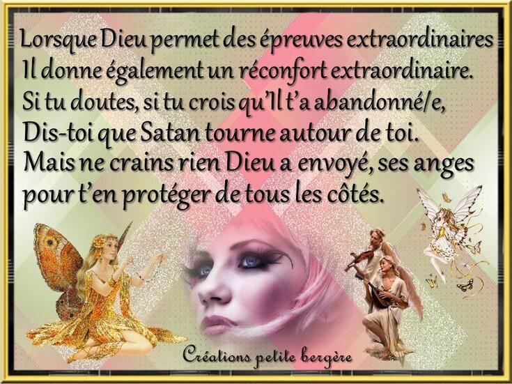 Dieu permet ...