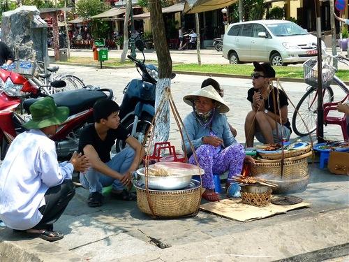 un petit restaurant de rue