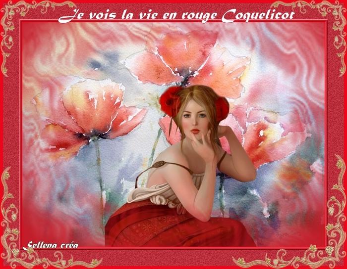 Carte**Rouge Coquelicot**