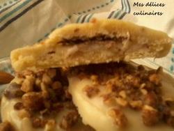 Cookies noisettes/amandes