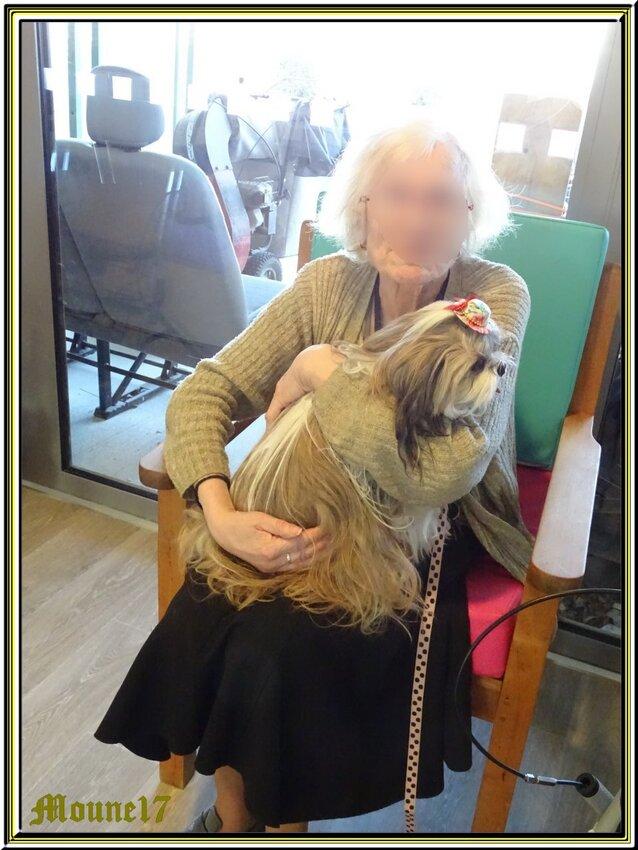 Visite à la maison de retraite de Marennes (vendedi 22 février)