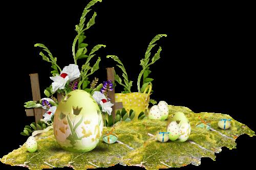 Tubés húsvéti diszek