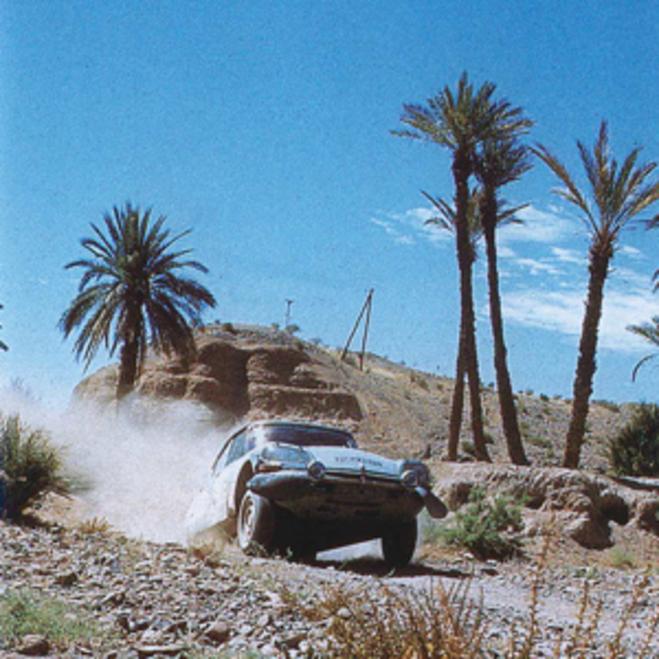 Rallye du Maroc 1973, équipe Citroën