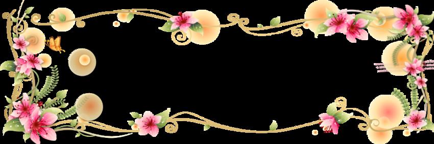 Header florale