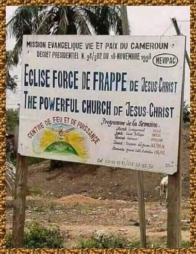 HUMOUR A L'AFRICAINE