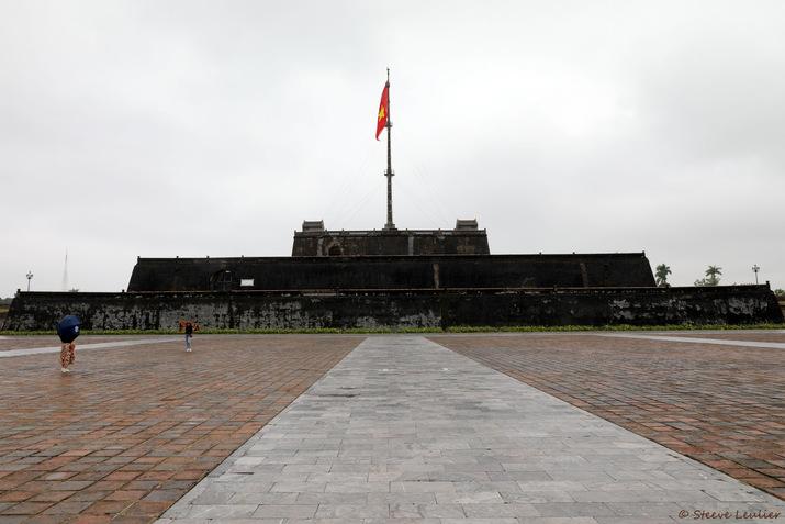 Citadelle royale de Hué, la tour du drapeau, Ky Dai