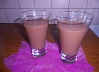 Smoothie banane cacao