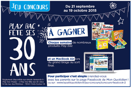 Concours Playbac