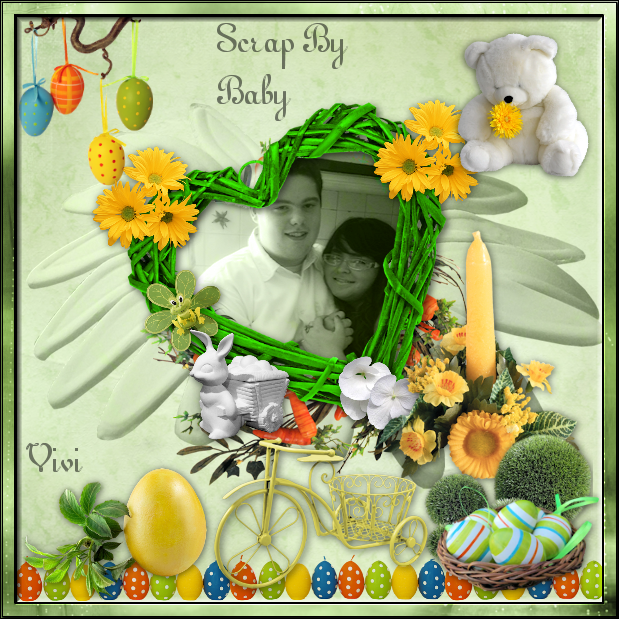 Scrap Easter By Baby