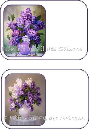 Bouquets de Fleurs ! Cartes et cartonnettes ...
