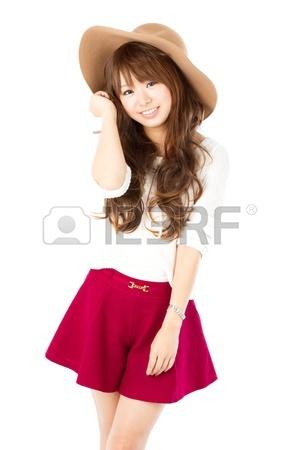 Belle jeune femme Portrait de femme asiatique Banque d'images - 13113499