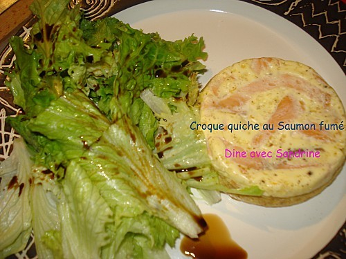 Croque quiche Saumon fumé 4