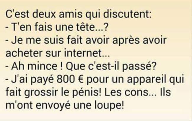 Humour du mercredi ...!!!