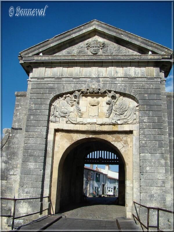 Citadelle de Saint-Martin-de-Ré Porte des Campani Charente-Maritime